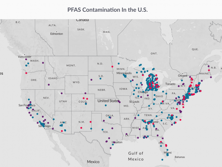 Environmental Working Group — Mapping National PFAS Contamination