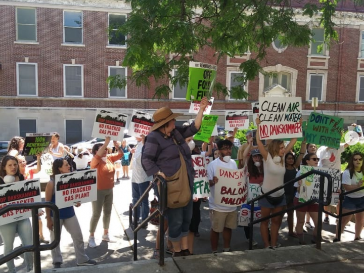 #OpposeDanskammer rally in NBNY Friday June 28, 2019