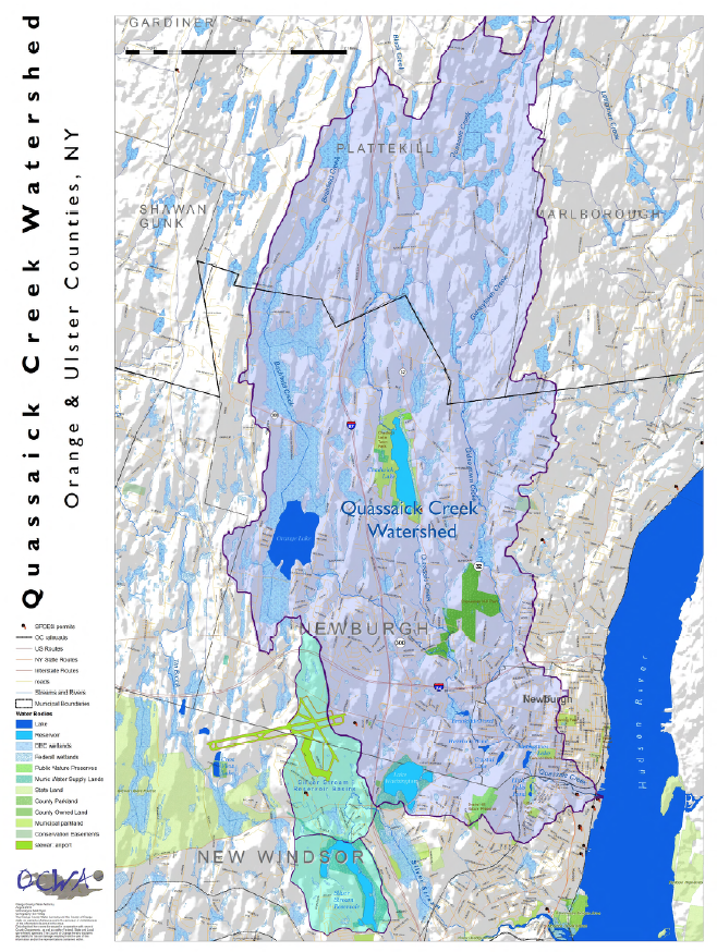 The Quassaick Creek Watershed, New York