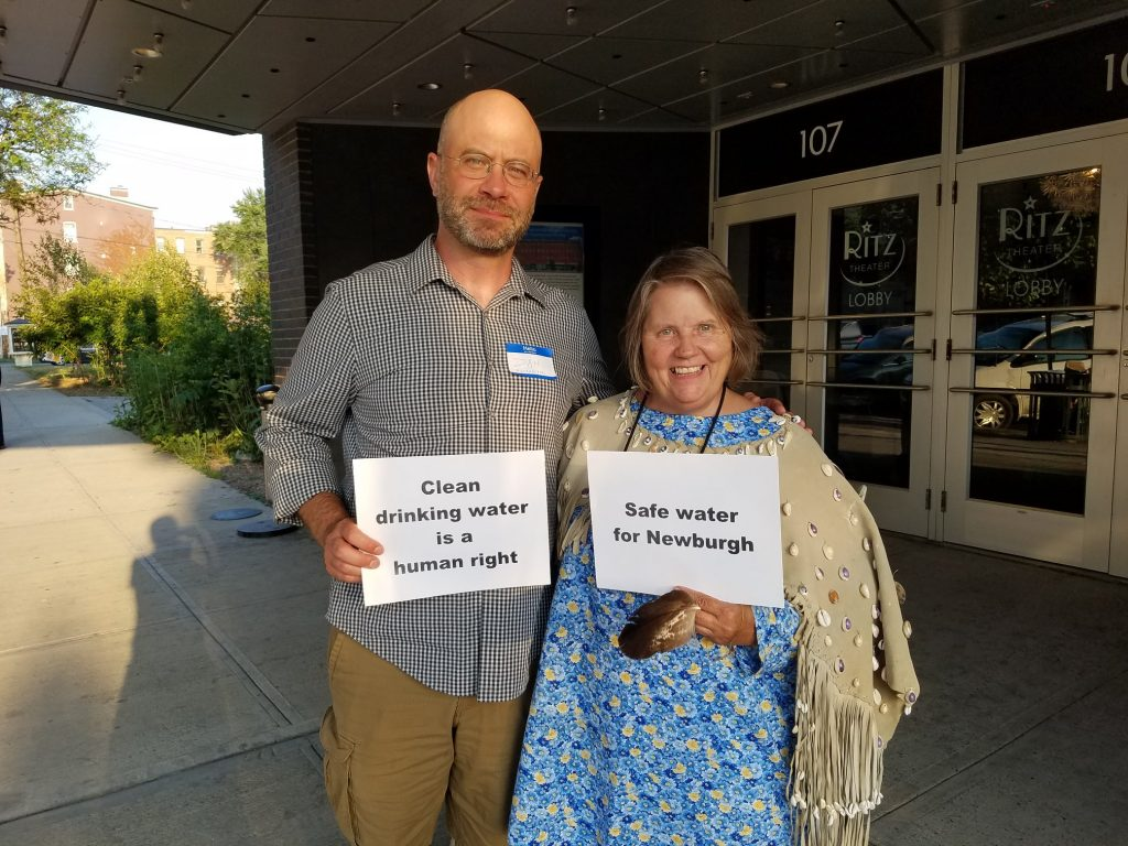 Dan Shapley of Riverkeeper & Grandmother Carole