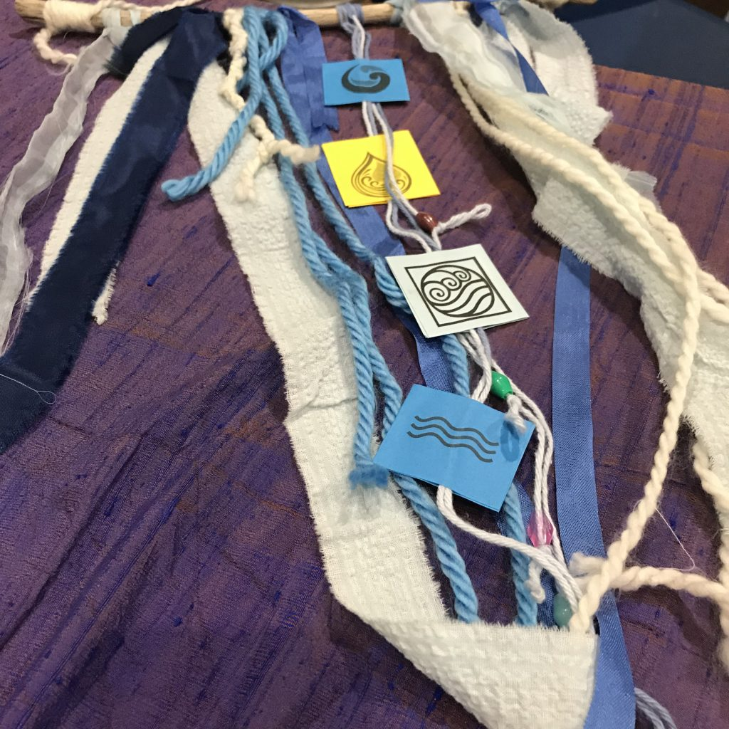 Water Dream Catchers - Designed by Jennifer Rawlison