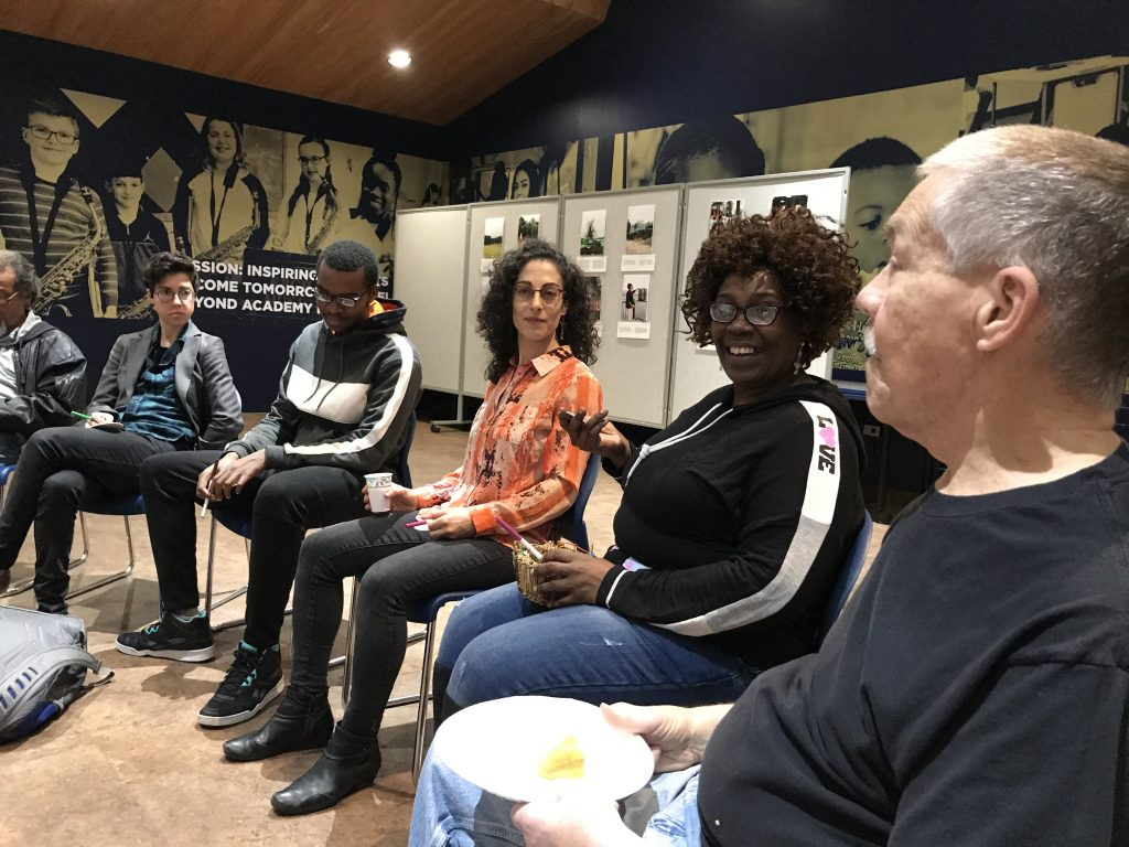 Community Circle led by Gabrielle Burton-Hill of The Restorative Center Newburgh