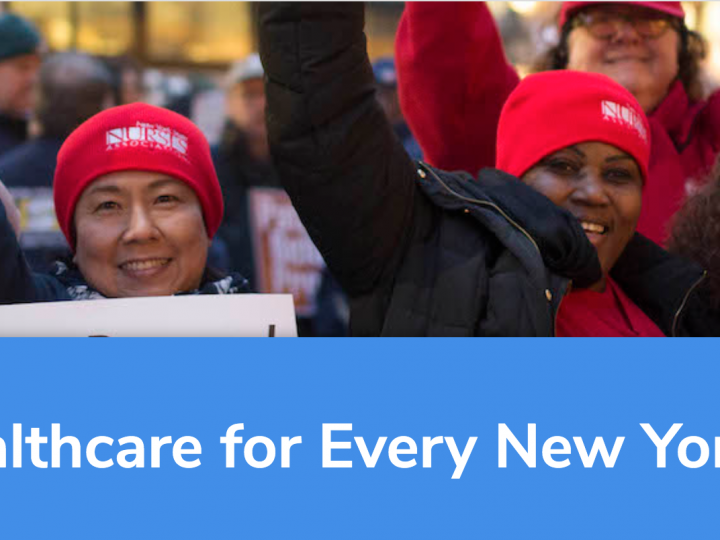 TAKE ACTION – Support the NY Health Act