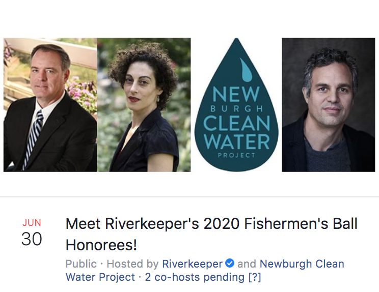 Riverkeeper - Meet Fisherman's Ball Honorees: Rob Billot, Newburgh Clean Water Project, Ophra Wolf, Mark Ruffalo