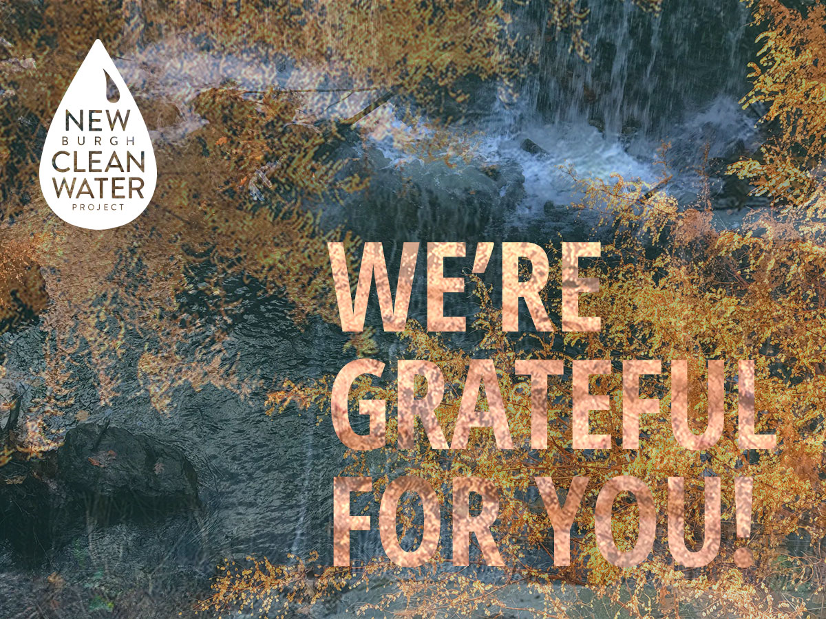 NCWP Nov. 2020 - We're Grateful for You. Shout Out to Water Allies