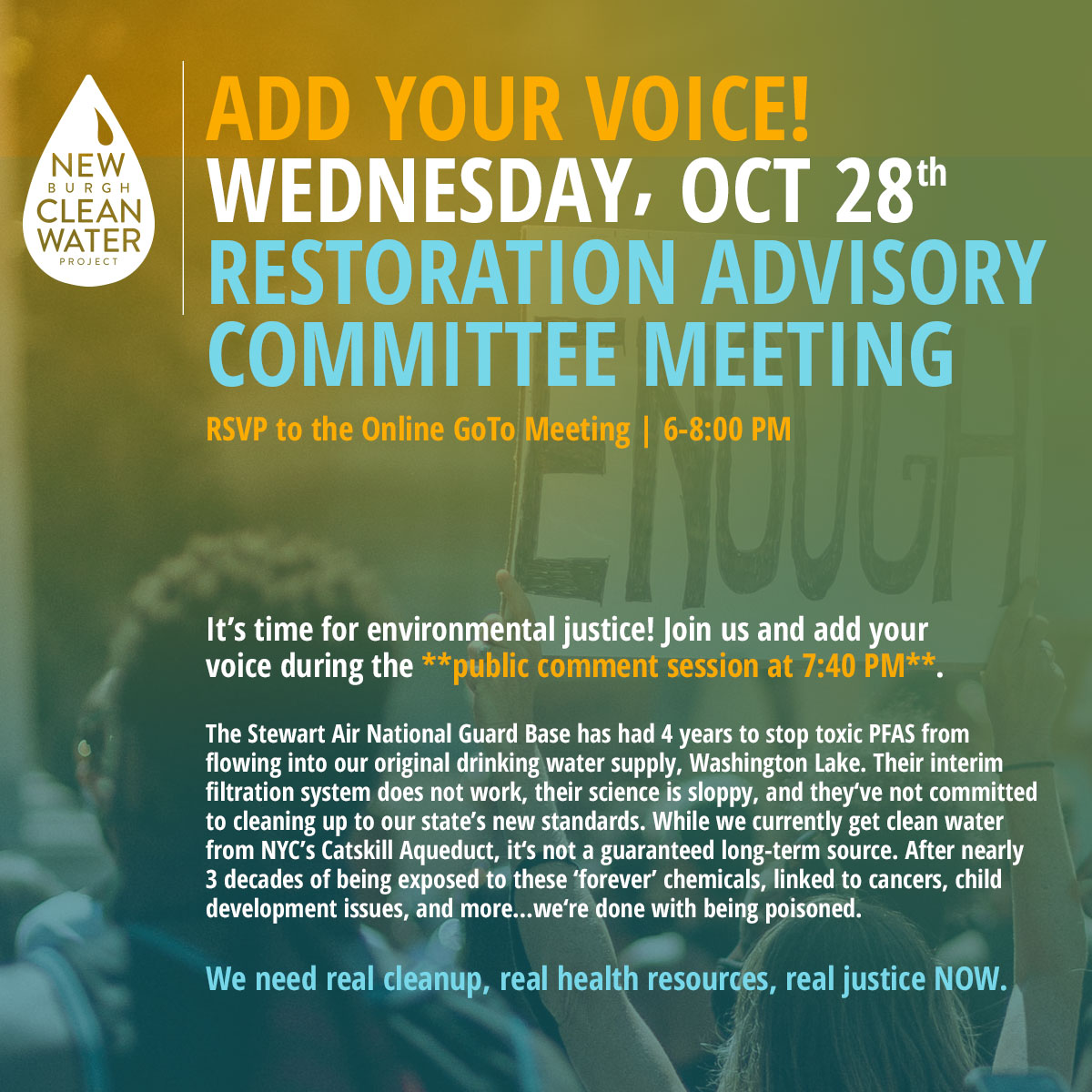 NCWP_Restoration_Advisory_Committee_10.28.20_Add_Your_Voice for Environmental Justice