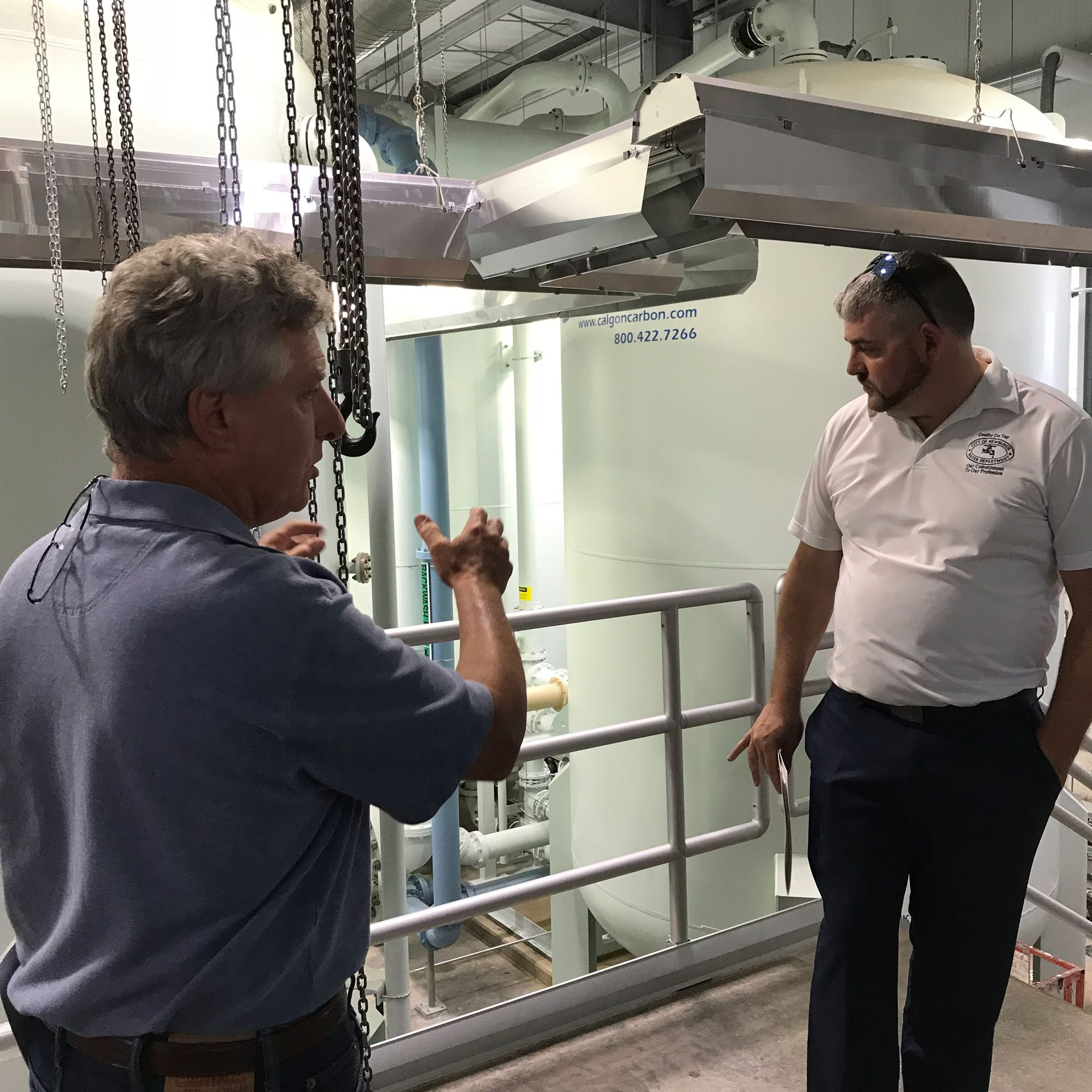 City of Newburgh Water Department Tours